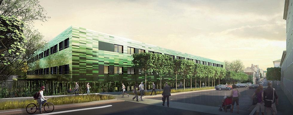 Modélisation 3D du Centre Hospitalier à Fontainebleau