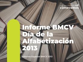 Informe BMCV Día de la Alfabetización 2013