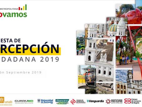 Encuesta de Percepción Ciudadana BMCV - 2019