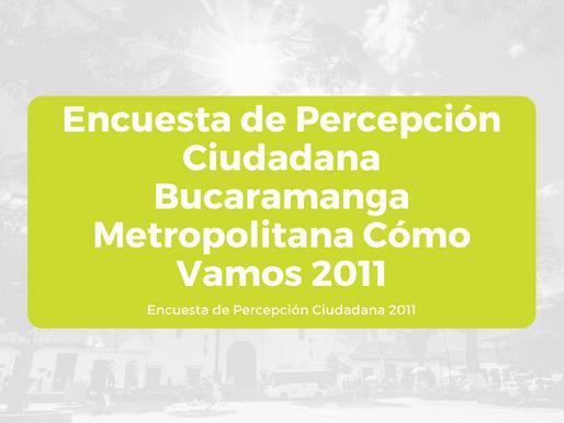 Encuesta de Percepción Ciudadana BMCV 2011