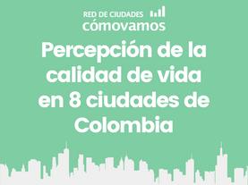 Comparativo percepción Red de Ciudades 2010