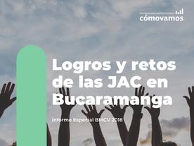 Logros y retos de las JAC en Bucaramanga