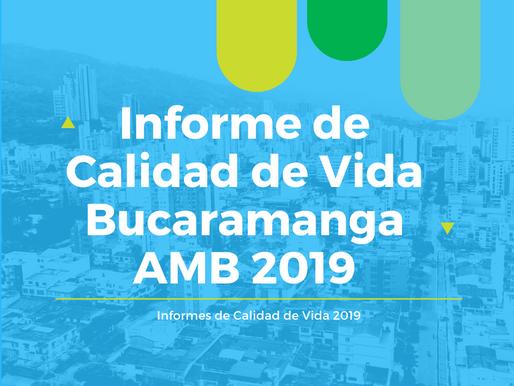 Informe de Calidad de Vida Bucaramanga AMB 2019