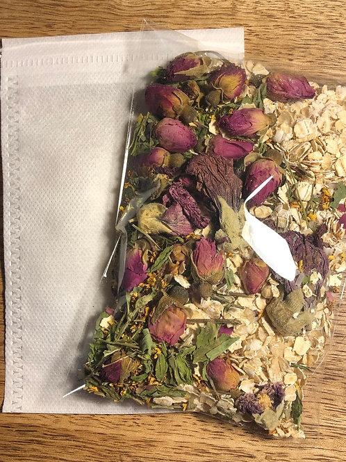 Chamomile Rose Bath Tea