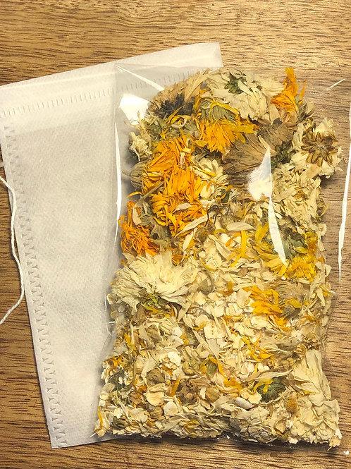 Chamomile Chrysanthemum Bath Tea