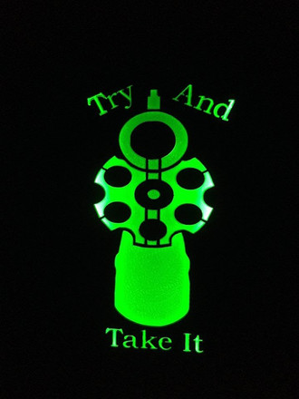 Try and Take it Revolver in Green