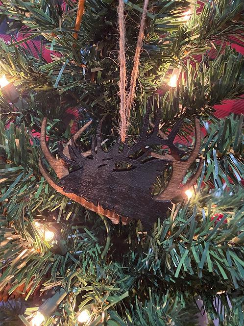 3D Elk Ornament