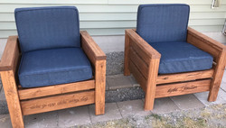 Pair of Deck Chairs