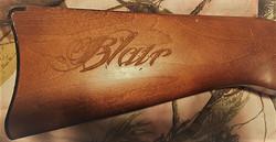 Engraved Gun Stock