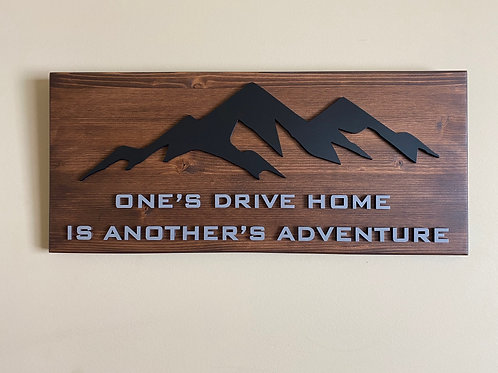 23inch Adventure Wall Decor