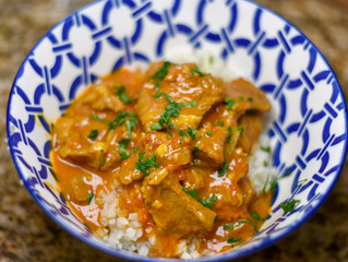 Whole 30 Instant Pot Lamb Rogan Josh