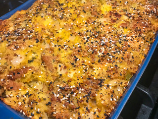 Everything Bagel Challah Stuffing