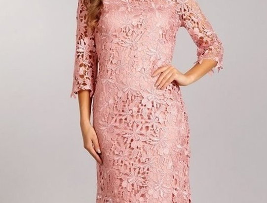 Lace, midi dress in a bodycon fit (Ready to ship)