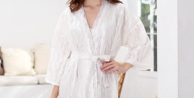 Lace Bride Short