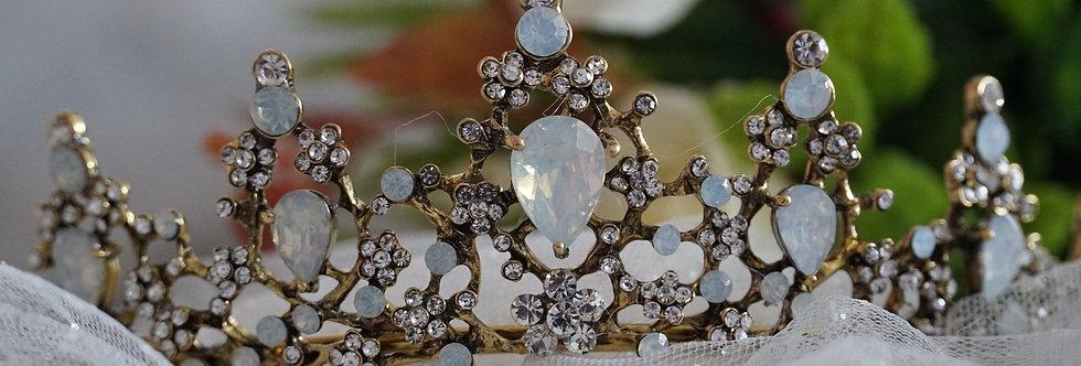 Vintage Gold Tiara