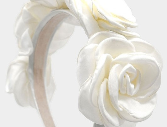 HDH0547 -Fabric Flower Headband