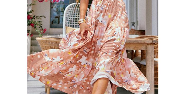 PV5122-Print Floral Chiffon