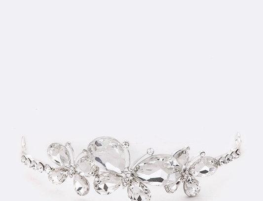 HM330034 -Crystal Butterfly Head Piece