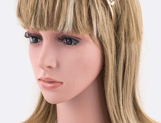 BJ058 - Filigree Leaf Crown Headband