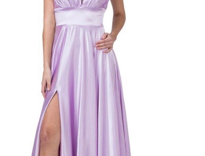 A-line Bridesmaid flowly dress