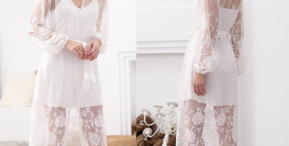 2022 Lace Long Robe