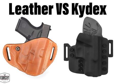 Leather vs Kydex