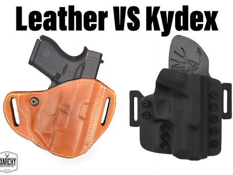 Leather vs Kydex