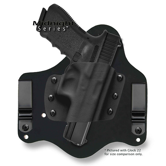 Glock 42 LaserMax GripSense Light & Laser | Revelation™ G2 IWB Midnight
