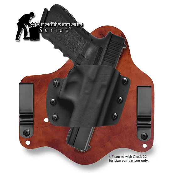 Glock 17,19/x,22,23,25,31,32,34,35 Inforce APLc | Revelation™ G2 IWB Craftsman