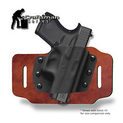 Alpha Slide™ OWB Craftsman Series™ OWB Holster