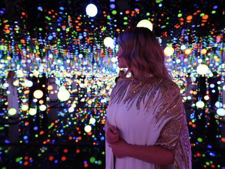 جولة بصرية في معرض نور على نور             ( نور الرياض ) مع لورا