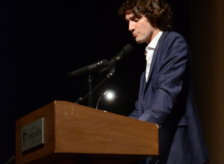 Justin Trudeau & Poetry