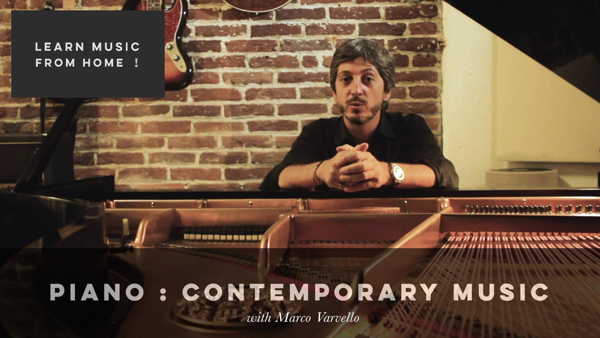 PIANO: CONTEMPORARY MUSIC