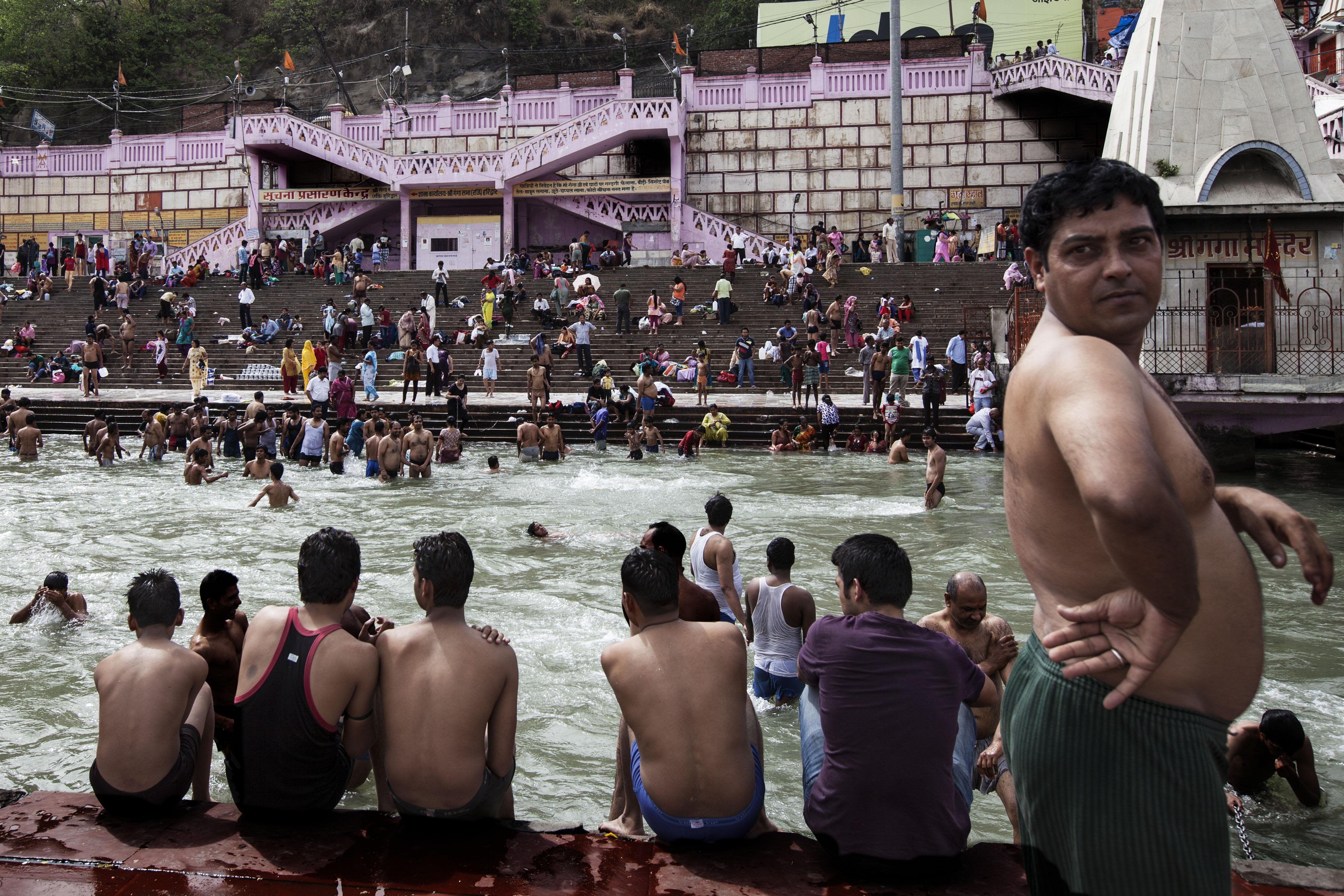 Gange, Haridwar, India