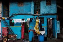 Blue. Mumbai, India