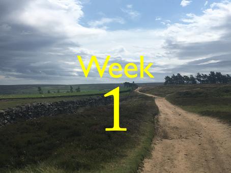 Virtual Camino - Week One update!