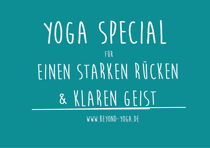 Finally back again: BEYOND YOGA SPECIALS