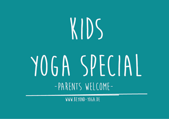 CHARITY KIDS ONLINE YOGA SPECIAL