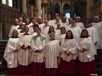 Holy Trinity Southchurch Choir sings at Canterbury Cathedral