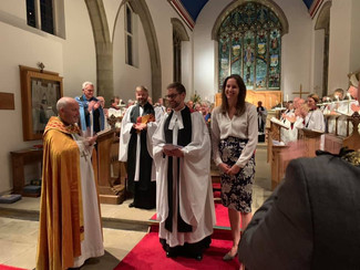 Our new Rector arrives!
