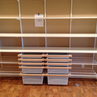 Custom Shelving Installation