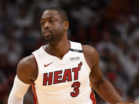 Dwyane Wade Swarmed by Warriors Players in Final Game at Oracle Arena  Heavy  February 10, 2019