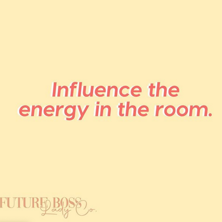 Most of my life I've absorbed the energy in the room. ⠀