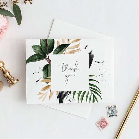 Thank You Cards 101