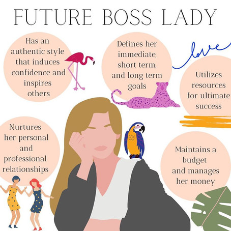 CORE VALUES OF A BOSS LADY: