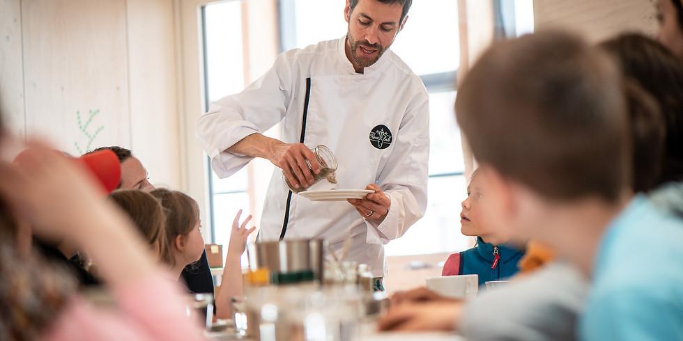 3 ateliers de cuisine : parents-enfants-ados * Living Food Life - MORGES