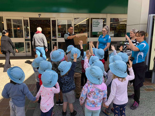 Senior Kindy & Preschool visit Woolworths!