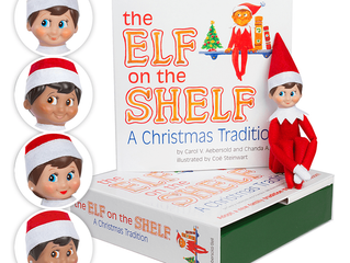 Elf on the Shelf 2017 - Oliver's and Olivia's adventures