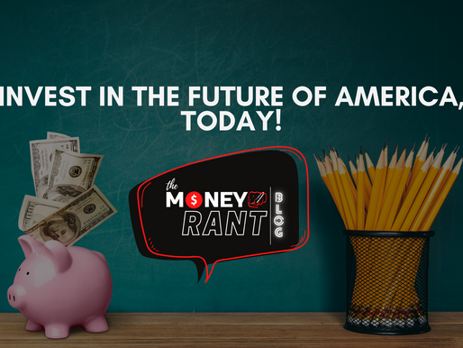 Invest In The Future Of America, Today!