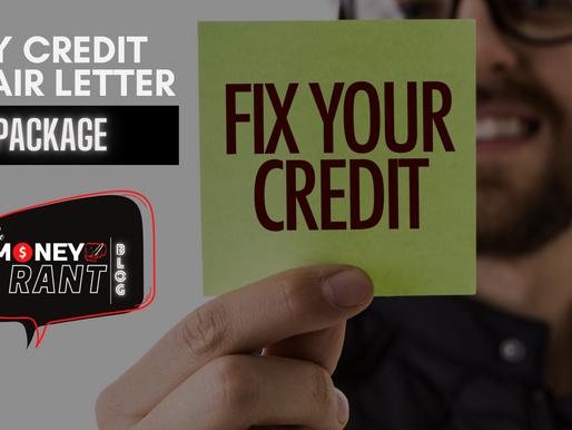 25 Credit Repair Letters - DIY Credit Repair Pacakge